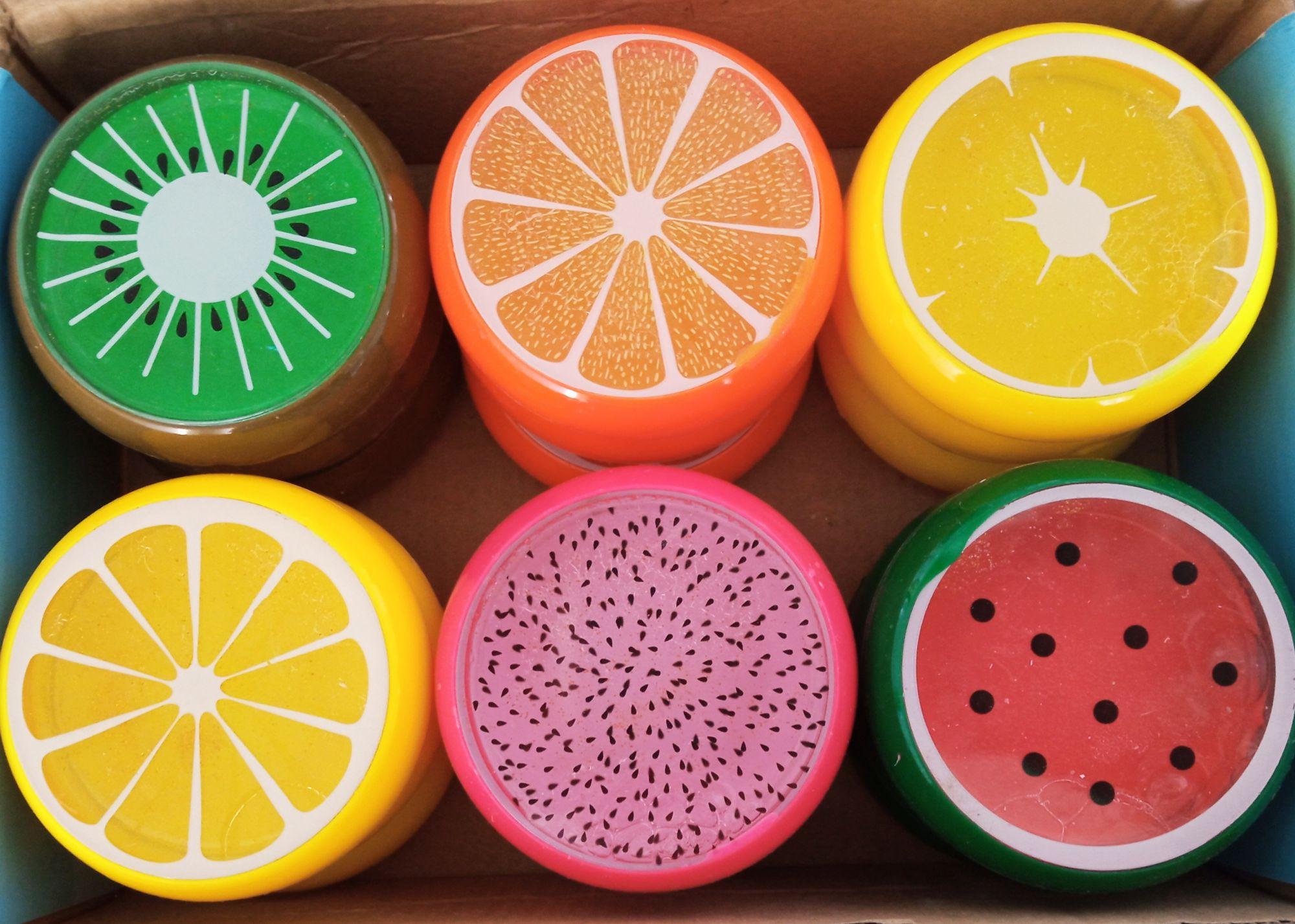 Набор слаймов Fruit crystal mud 18 шт 1739P