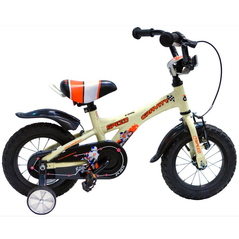 Купить Велосипед GRAVITY Speed Кремовый 12 ,