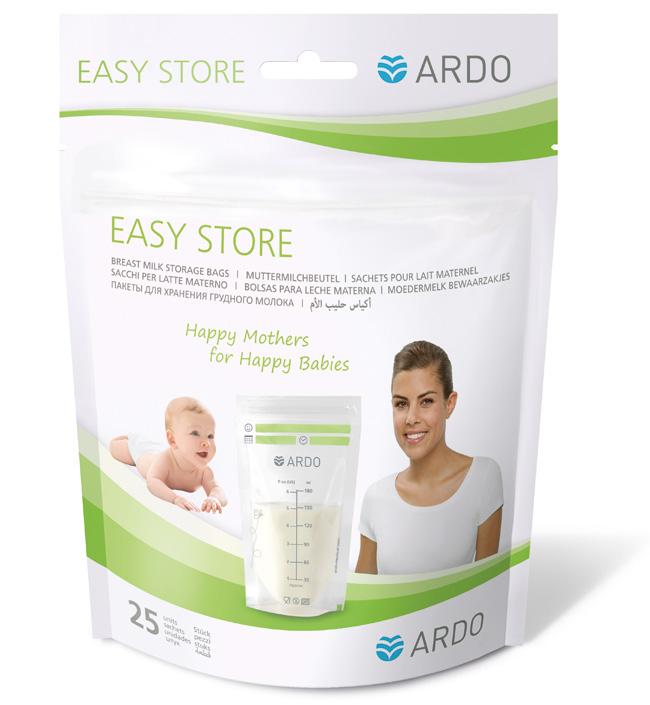 Купить Ardo Пакеты для хранения грудного молока Ardo Easy Store, 25 шт.,