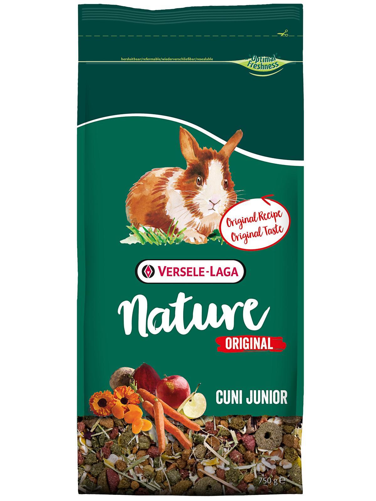 Корм для кроликов Versele Laga Nature Original