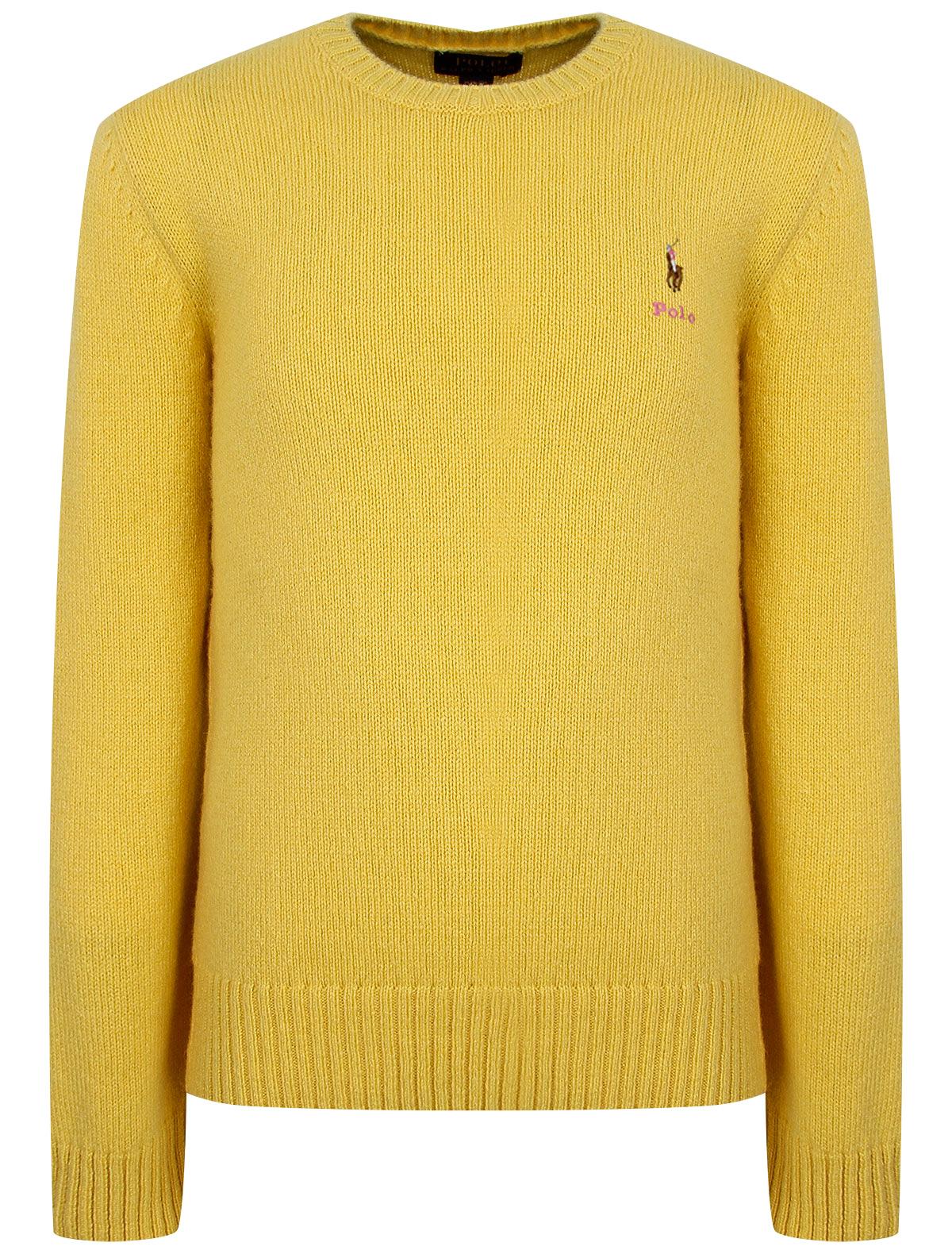 Купить Джемпер Polo Ralph Lauren для девочек 311800168003 желтый 92,