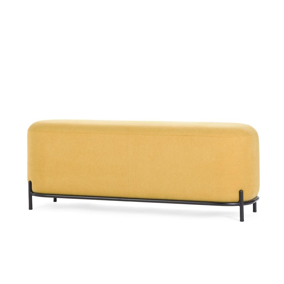 Пуф Pawai 120 см желтый StoreForHome