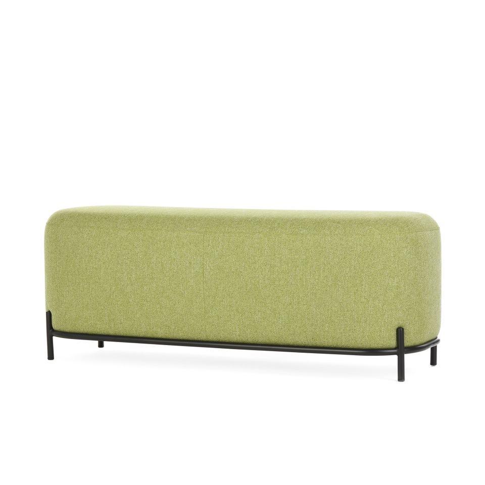 Пуф Pawai 120 см зеленый StoreForHome