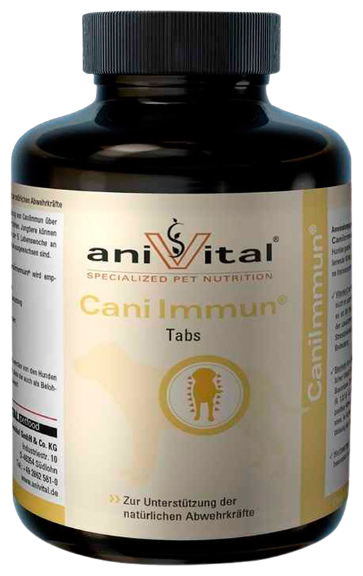 Anivital CaniImmun для собак, поддержание тонуса
