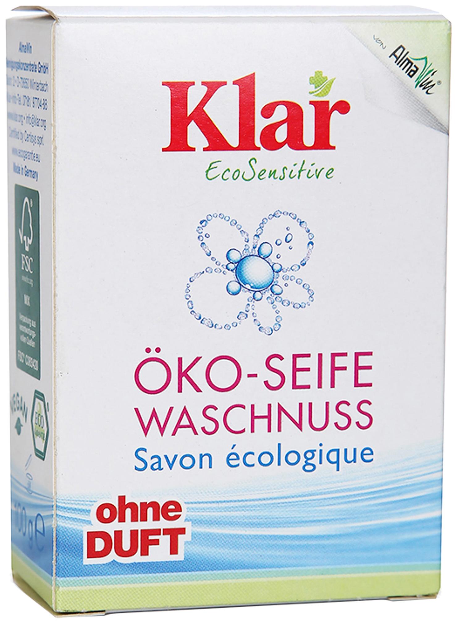Мыло Klar на мыльном орехе, 100