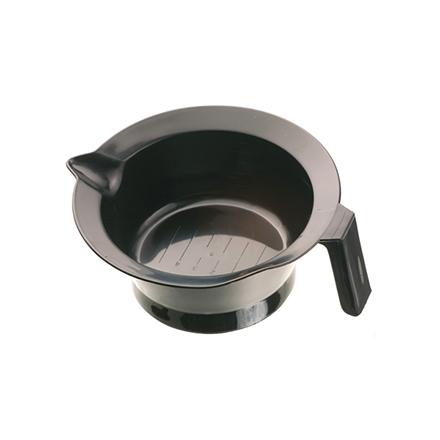 Чаша для краски Dewal, черная, с ручкой
