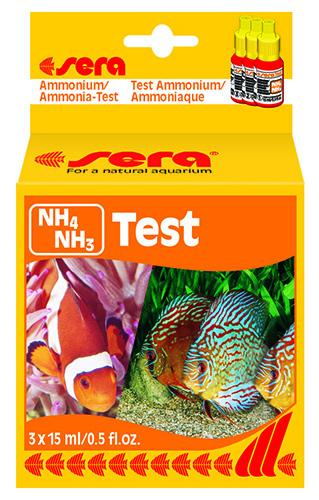 Тест для воды Sera NH4 NH3 TEST