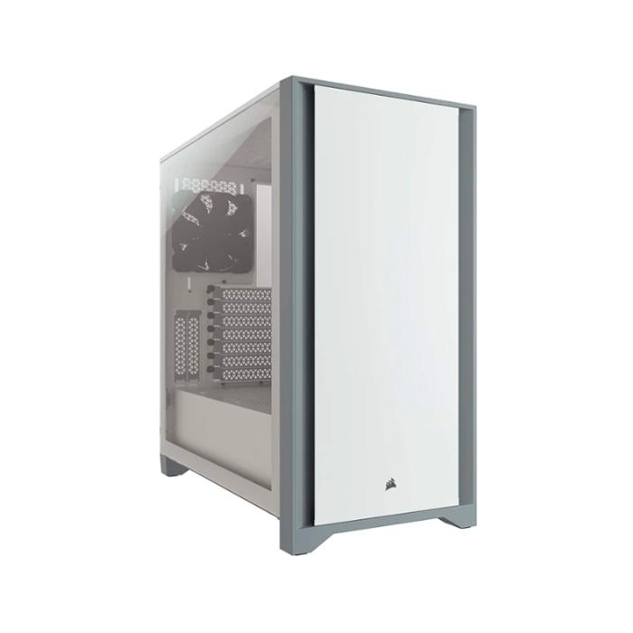 Корпус компьютерный Corsair 4000D Tempered Glass White