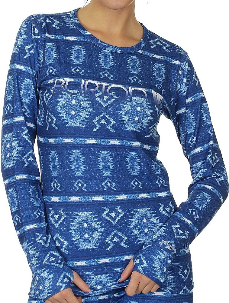 ТЕРМОБЕЛЬЕ BURTON MIDWEIGHT BASELAYER CREW 2014 BLUE L