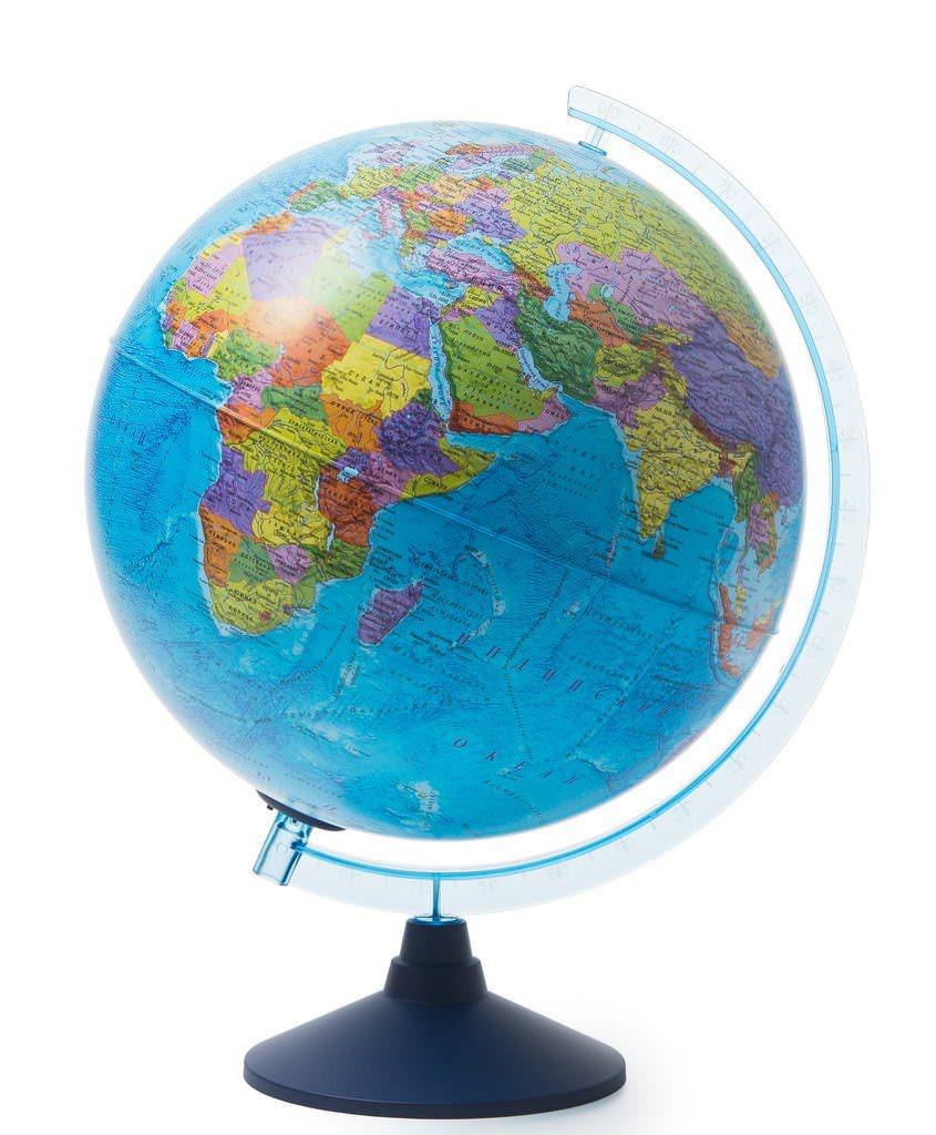 Глобус Globen политический Ве013200263 с подсветкой от батареек d=320