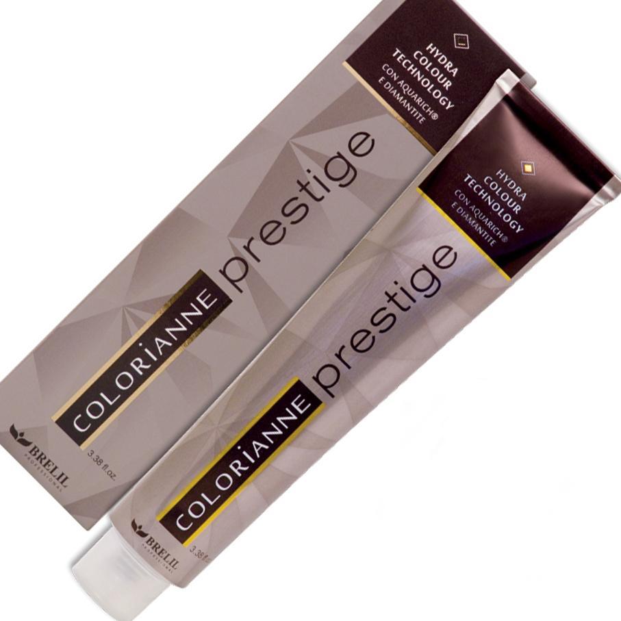 Купить Краска для волос Colorianne Prestige 8/12 Светлый лунно-песочный блонд, 100 мл, Brelil professional