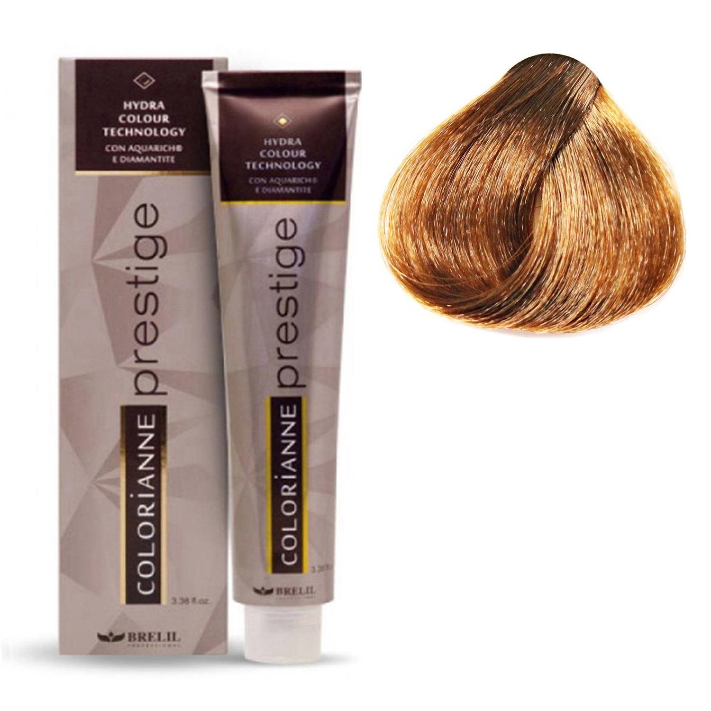 Купить Краска для волос Colorianne Prestige 7/30 Золотистый блонд, 100 мл, Brelil professional