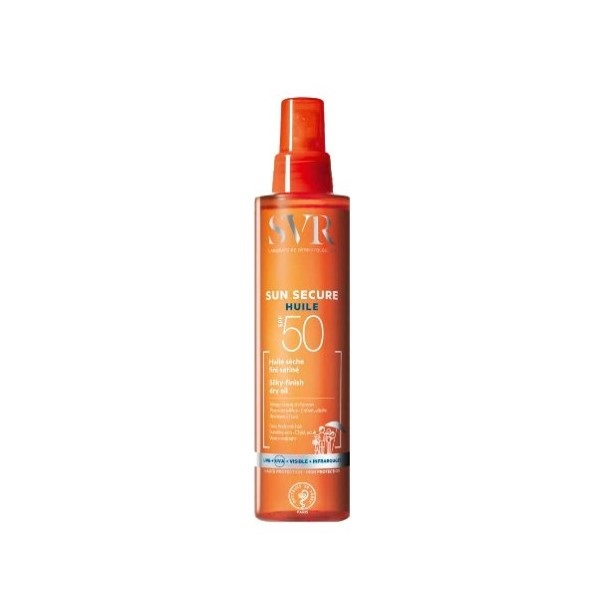 Сухое масло SVR Sun Secure SPF50 200мл