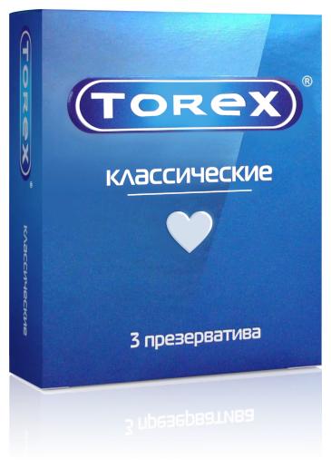 Купить Презервативы классические TOREX, 3 шт