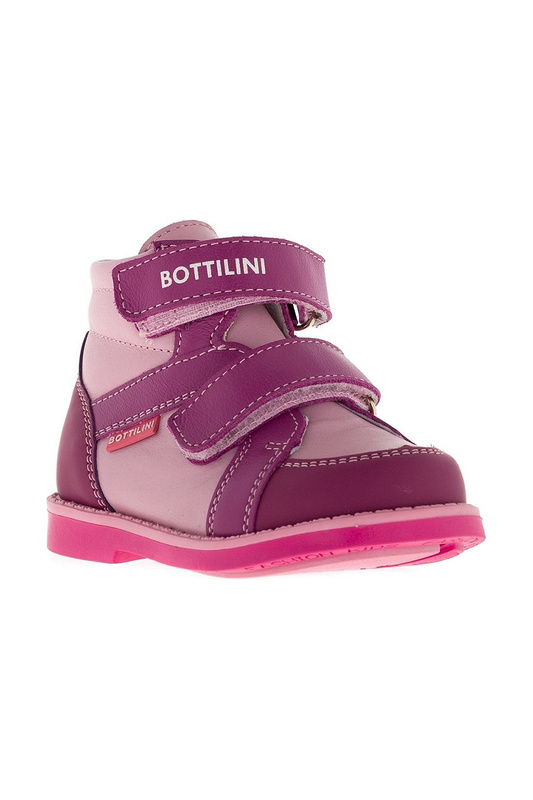 Купить BO-183 (4)Б РОЗОВЫЙ, Ботинки BOTTILINI BO-183 (4)Б р.21,