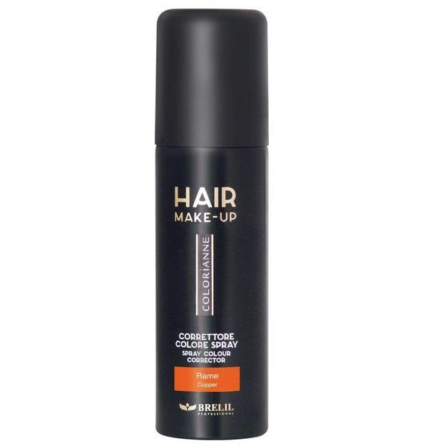 Купить Спрей-макияж для волос Colorianne, медный, 75 мл, Brelil professional