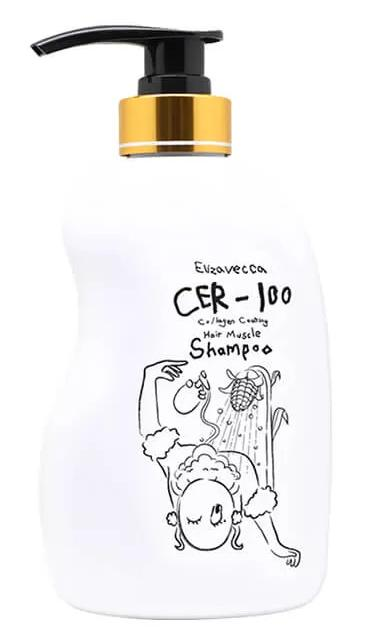 Купить Шампунь для волос с коллагеном восстанавливающий Elizavecca CER-100 Collagen, 500 мл