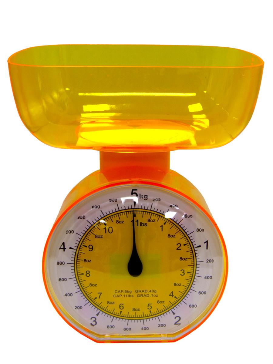 Весы кухонные Arte Nuevo KS 018 Yellow