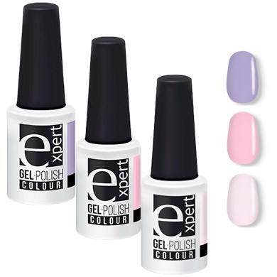 Купить Набор гель-лаков Expert для ногтей 5+5+5 мл, 3 шт., Набор гель-лаков для ногтей 5+5+5 мл