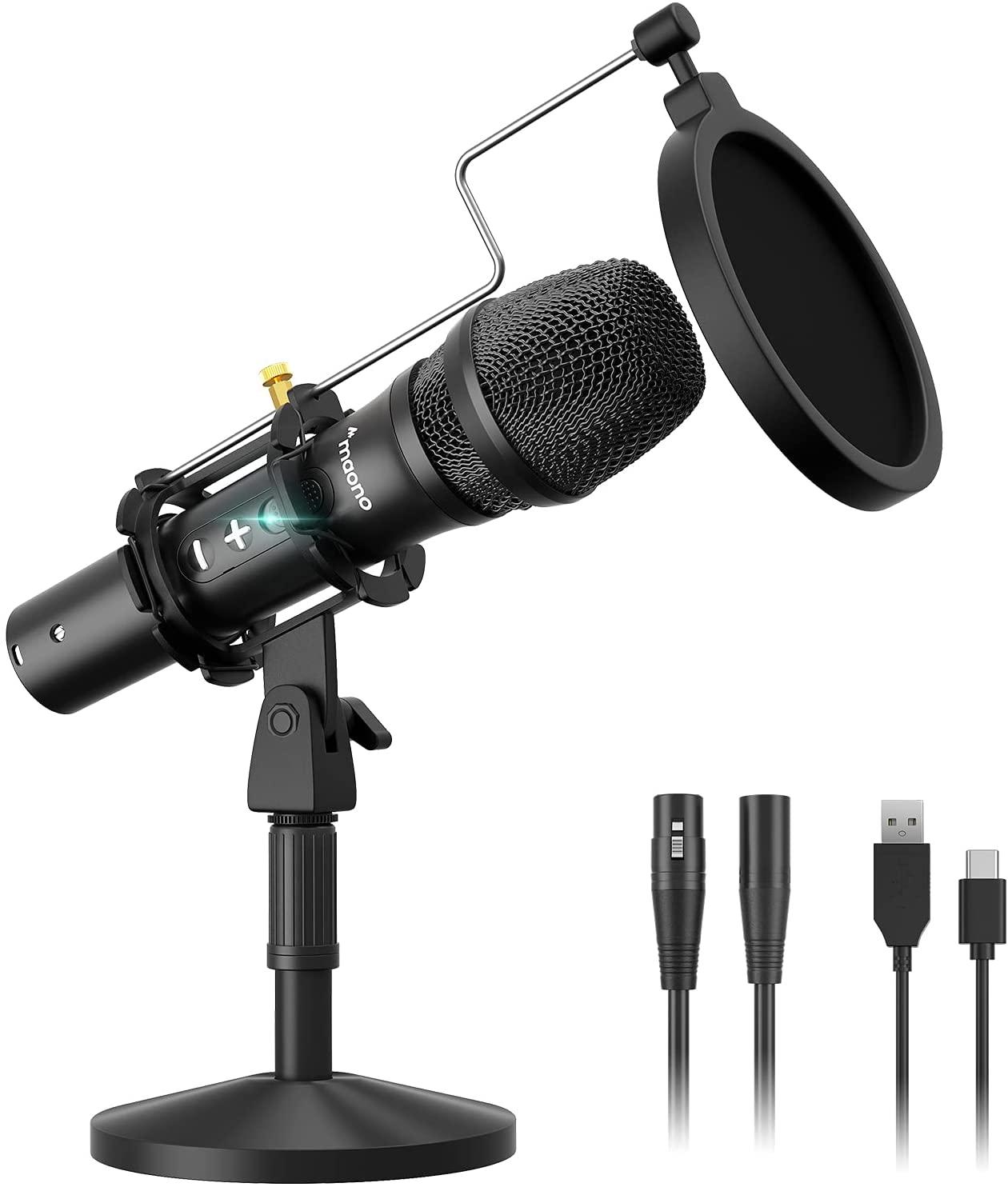 Микрофон Maono HD300T Black