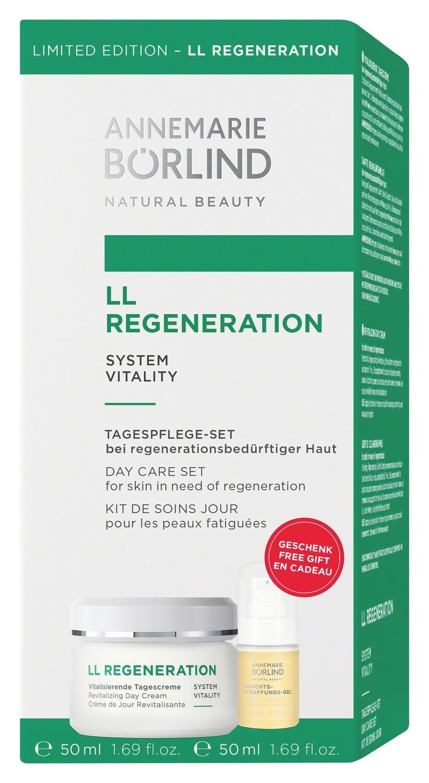 Купить Набор LL Regeneration: Дневной крем с LL Биокомплексом 50 мл + Гель-укрепляющий 15 мл, Крем для кожи, Annemarie Borlind