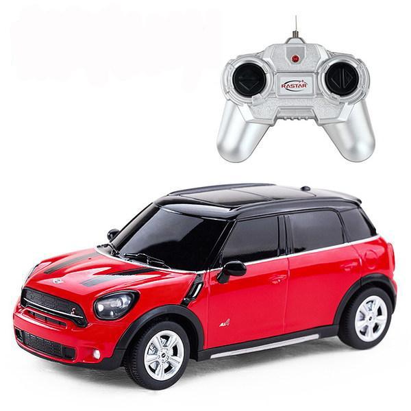 Купить Rastar Машина на р/у – Mini Cooper S Countryman, 1:24, красный,