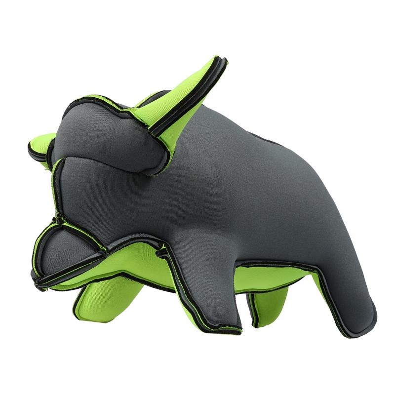 Мягкая игрушка для собак Ebi Салли, серый,
