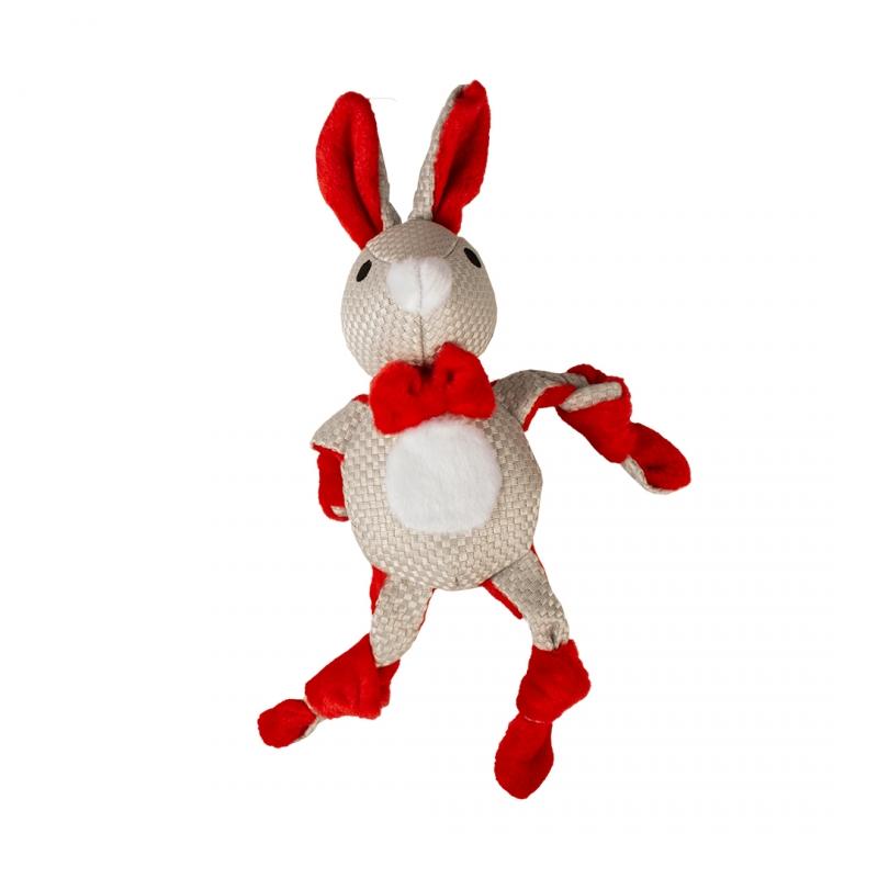 Мягкая игрушка для собак Duvo+ Новогодний кролик,