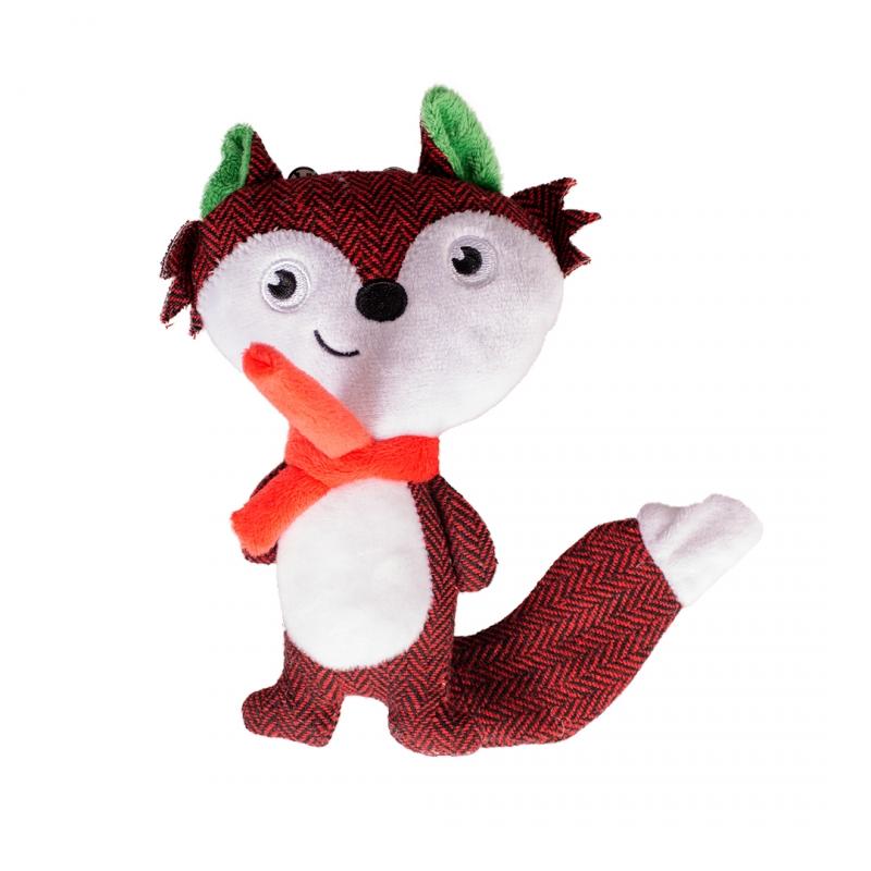 Мягкая игрушка для собак Duvo+ Новогодняя Лисичка,
