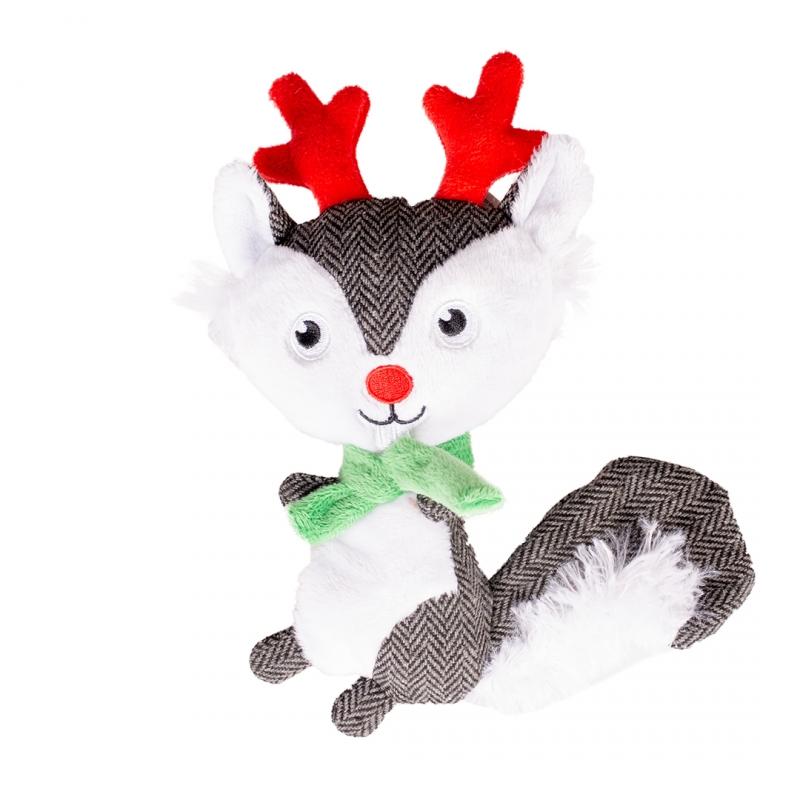 Мягкая игрушка для собак Duvo+ Новогодняя Белочка,