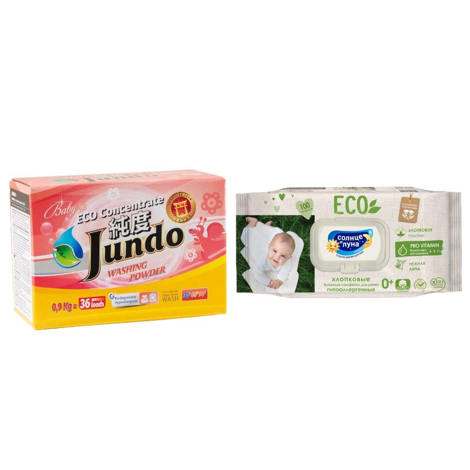 Стиральный порошок Jundo Baby 900 г