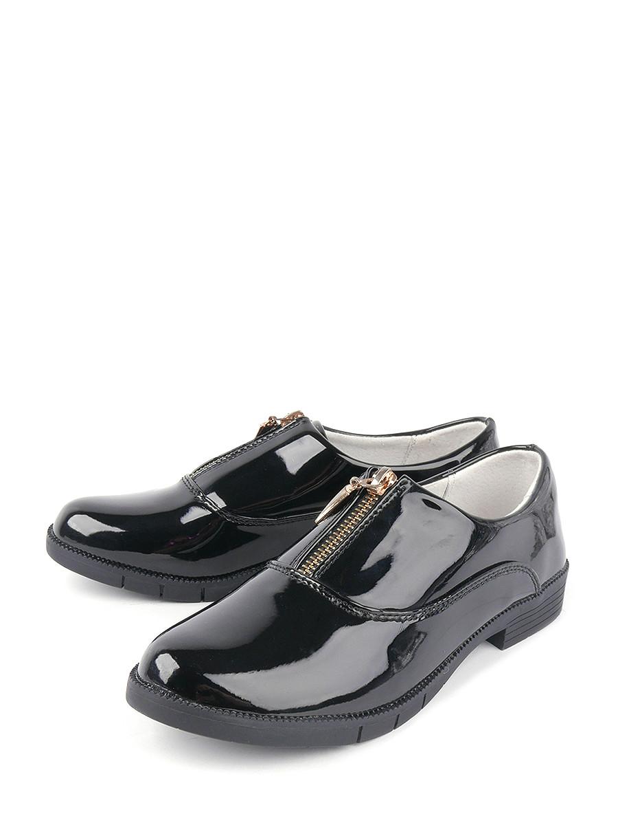 Туфли детские BERTEN, цв.черный р.34