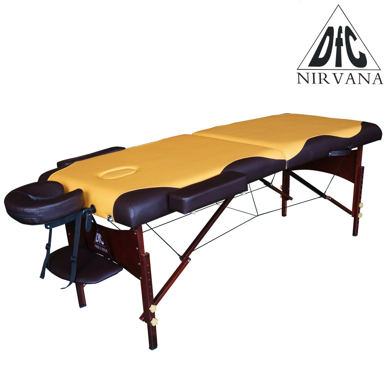 Массажный стол складной DFC Nirvana Relax TS20112_MB mustard/brown фото