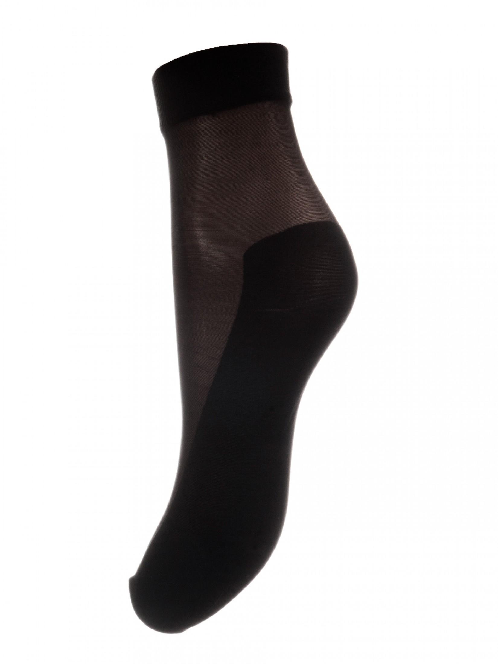 Капроновые носки женские Mademoiselle Daily (c) черные UNICA