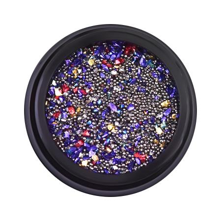 Купить Стразы Patrisa Nail Микс для дизайна в баночке, мелкие камешки, пикси, бульонки, ND74