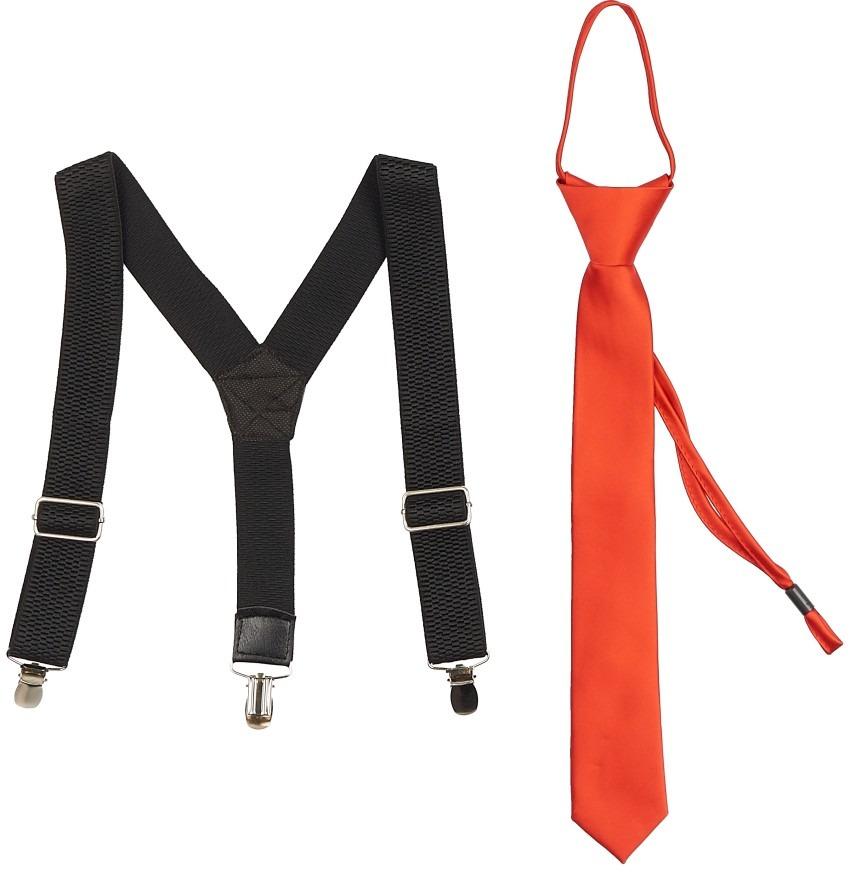 Набор подарочный подростковый: подтяжки и галстук