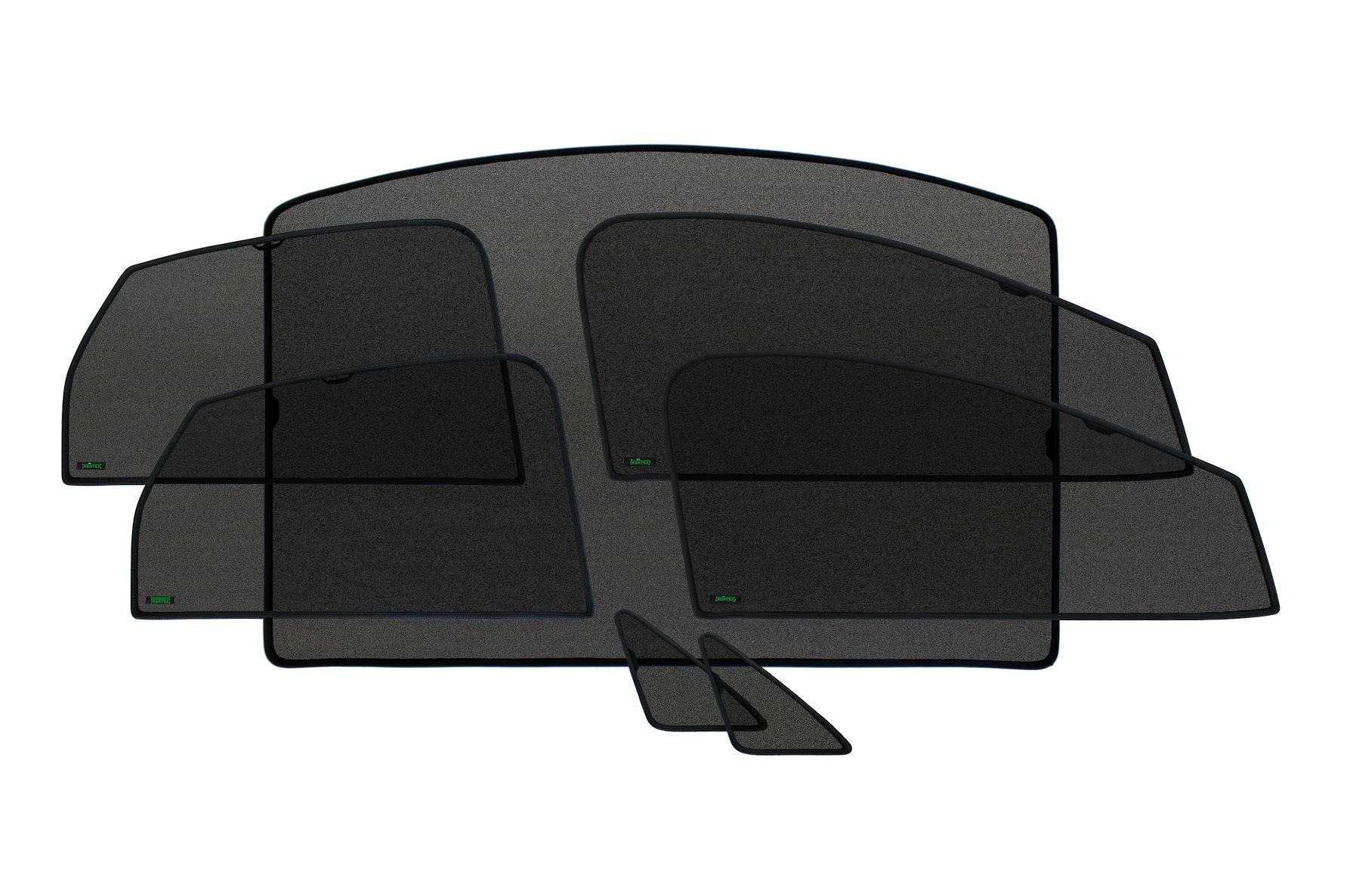 Каркасные автошторки KERTEX со встроенными магнитами по кругу Kia Sportage (2004-2010г.в.)