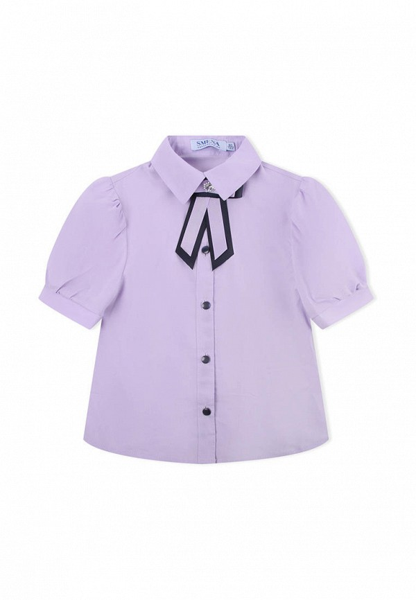Блузка для девочек SMENA цв.сиреневый 10850 р.146/72