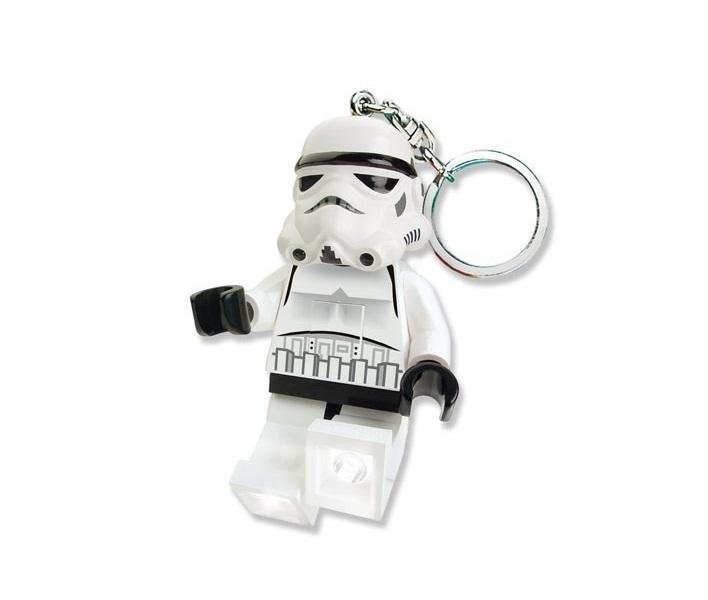 Купить LGL-KE12, Брелок-фонарик для ключей Lego. Star Wars. Storm Trooper,