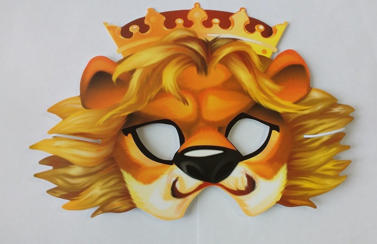 MSK3, Маска карнавальная Лев, Dream Makers, Карнавальные головные уборы  - купить со скидкой