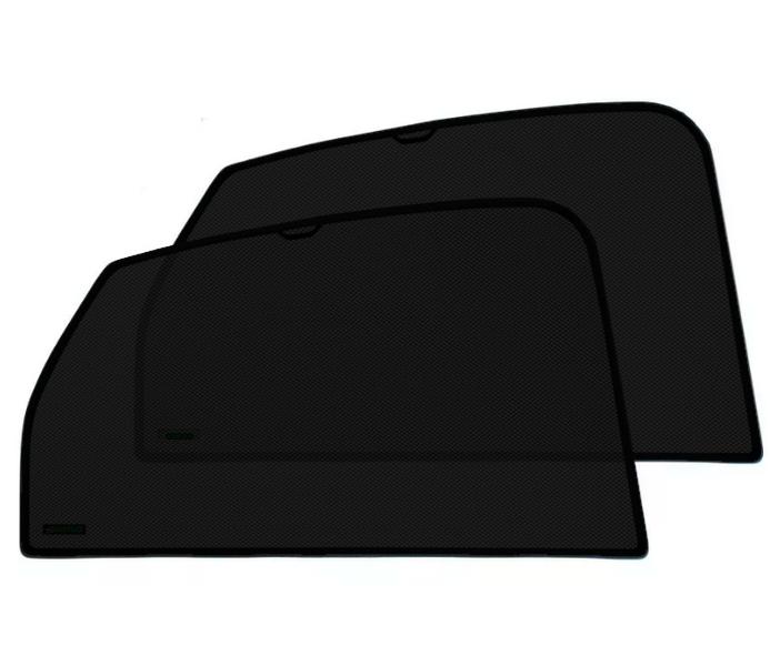 Каркасные автошторки KERTEX на встроенных магнитах на задние двери Skoda Yeti (2012г.в.)