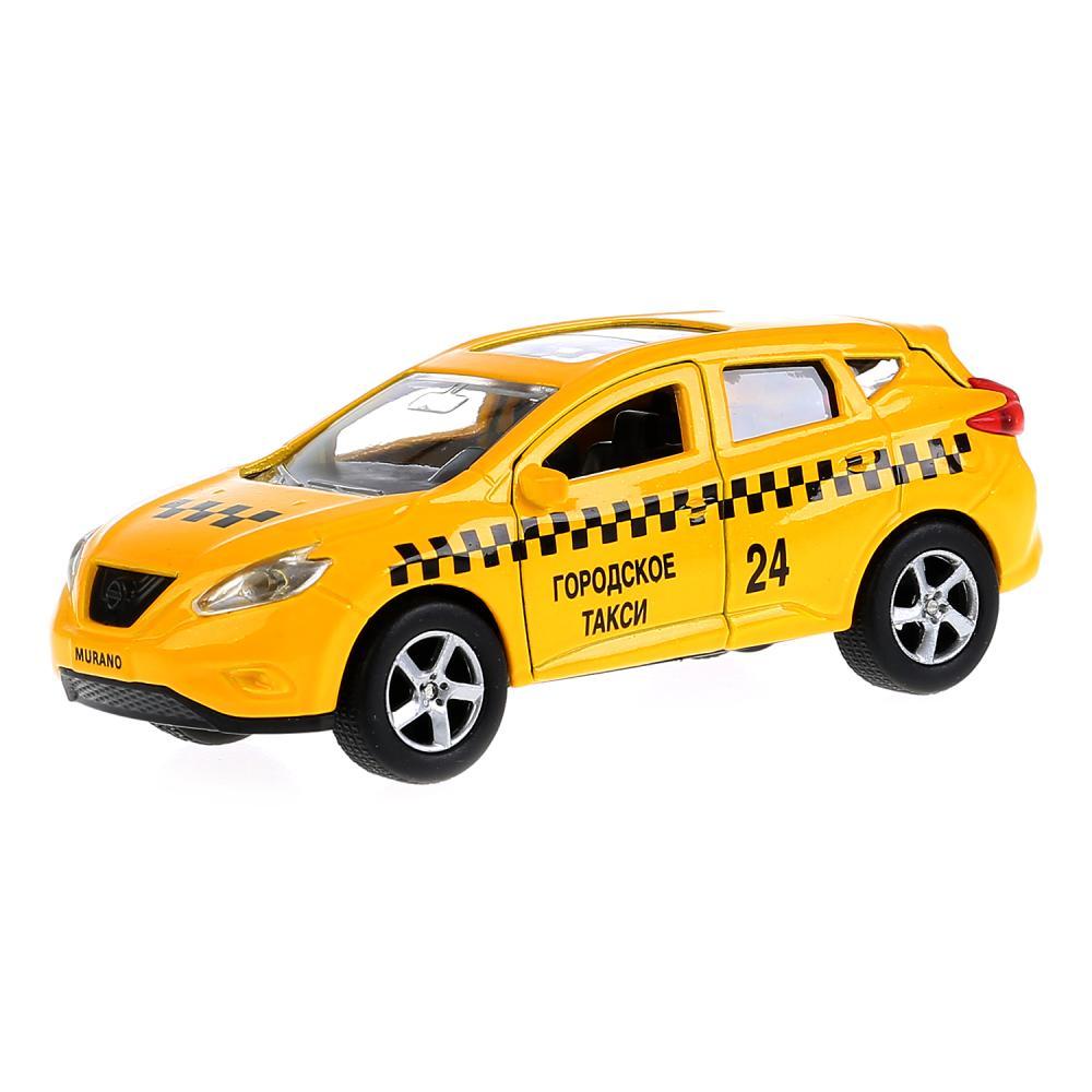 Машина металлическая инерционная Технопарк Nissan Murano Такси, 12 см