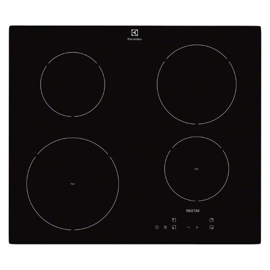 Встраиваемая варочная панель индукционная Electrolux EHH56240IK Black фото