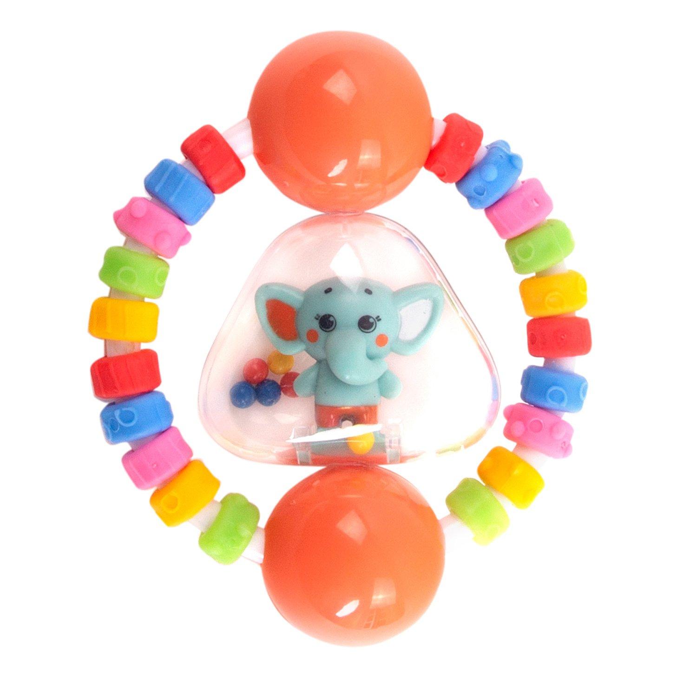 Погремушка Happy Snail Слоник Джамбо,  - купить со скидкой