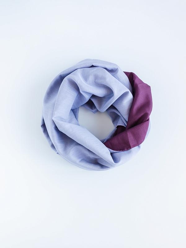 Снуд-хомут женский PAON s4-02 фиолетовый