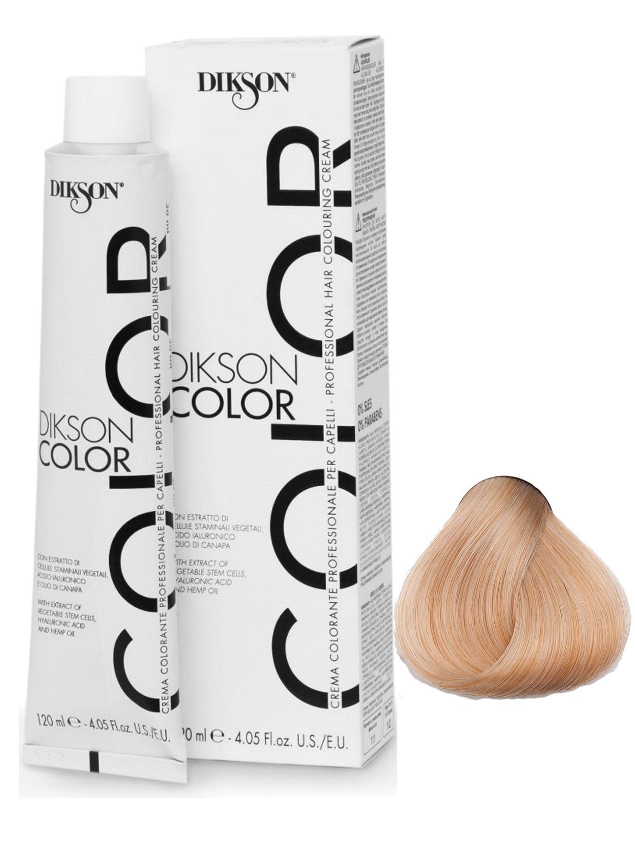 Крем-краска DIKSON для окрашивания волос 11.02 очень светло-русый с бежевым оттенком 120мл