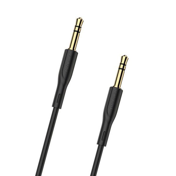 AUX кабель Borofone BL1 1м Black