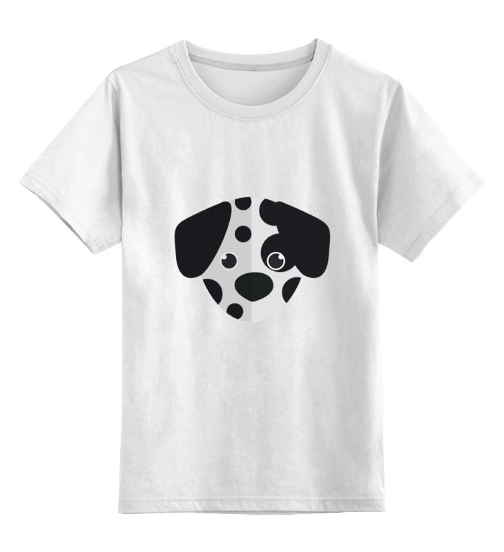 Детская футболка Printio Далматинец цв.белый р.116 0000002120068 по цене 790