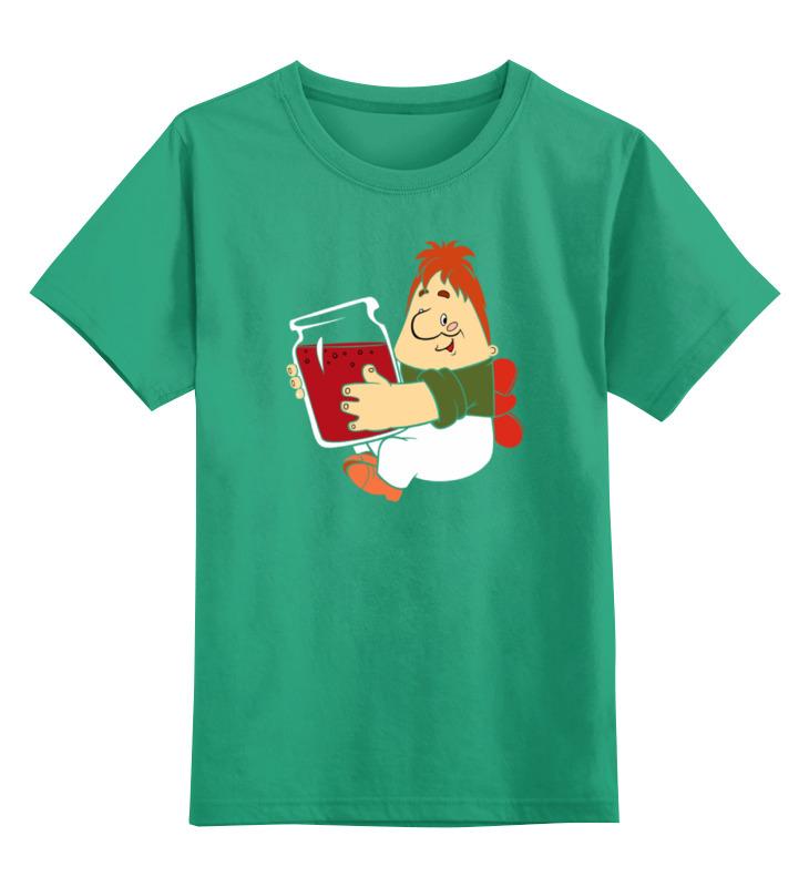 Детская футболка Printio Карлсон который живет на крыше цв.зеленый р.128 0000002174424 по цене 990