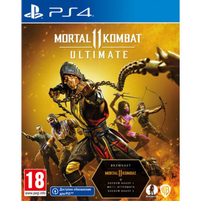 Игра Mortal Kombat 11 Ultimate для PlayStation